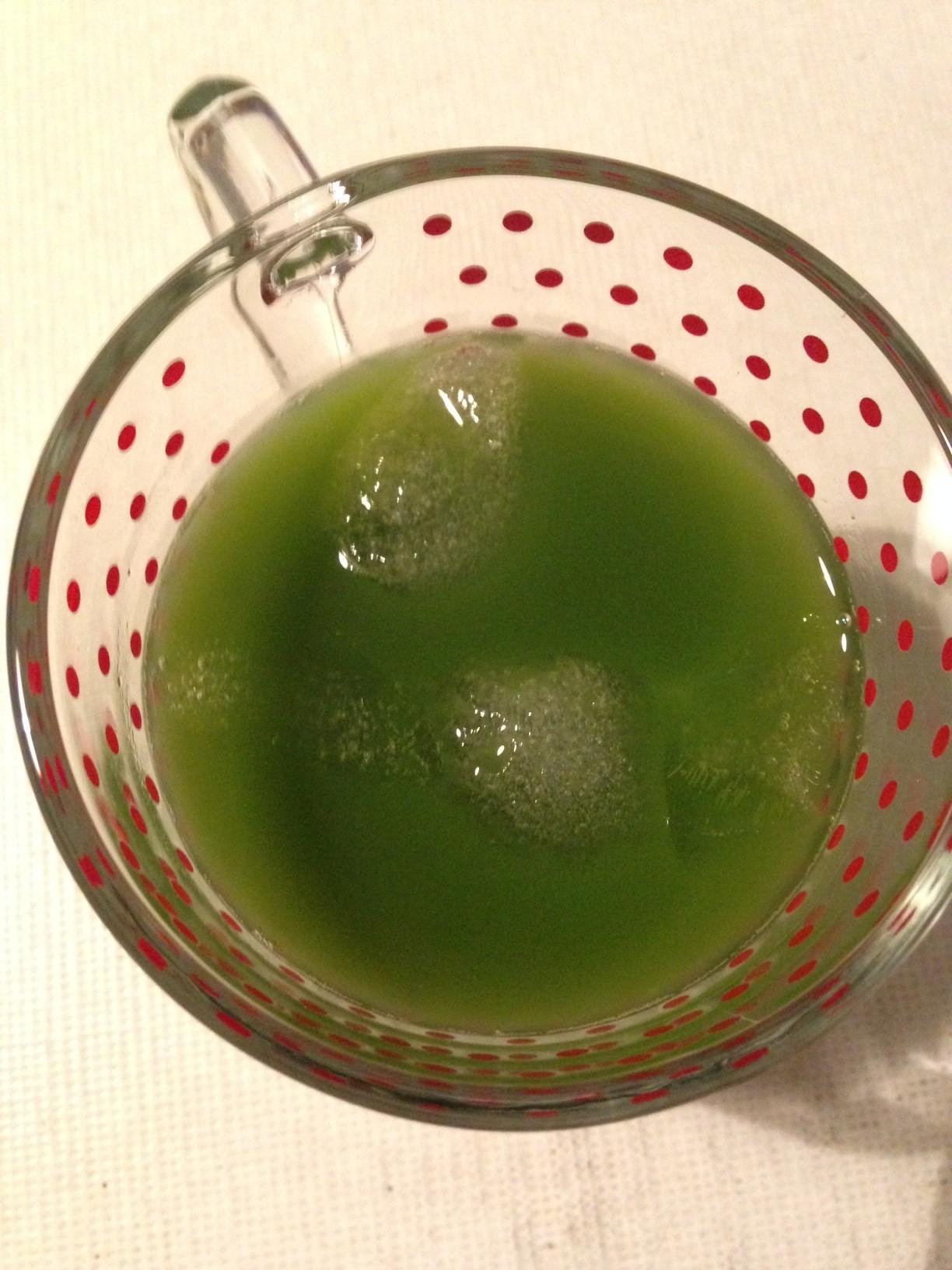 grüner blitz: matcha longdrink | green lightning: matcha longdrink ❤ vegan
