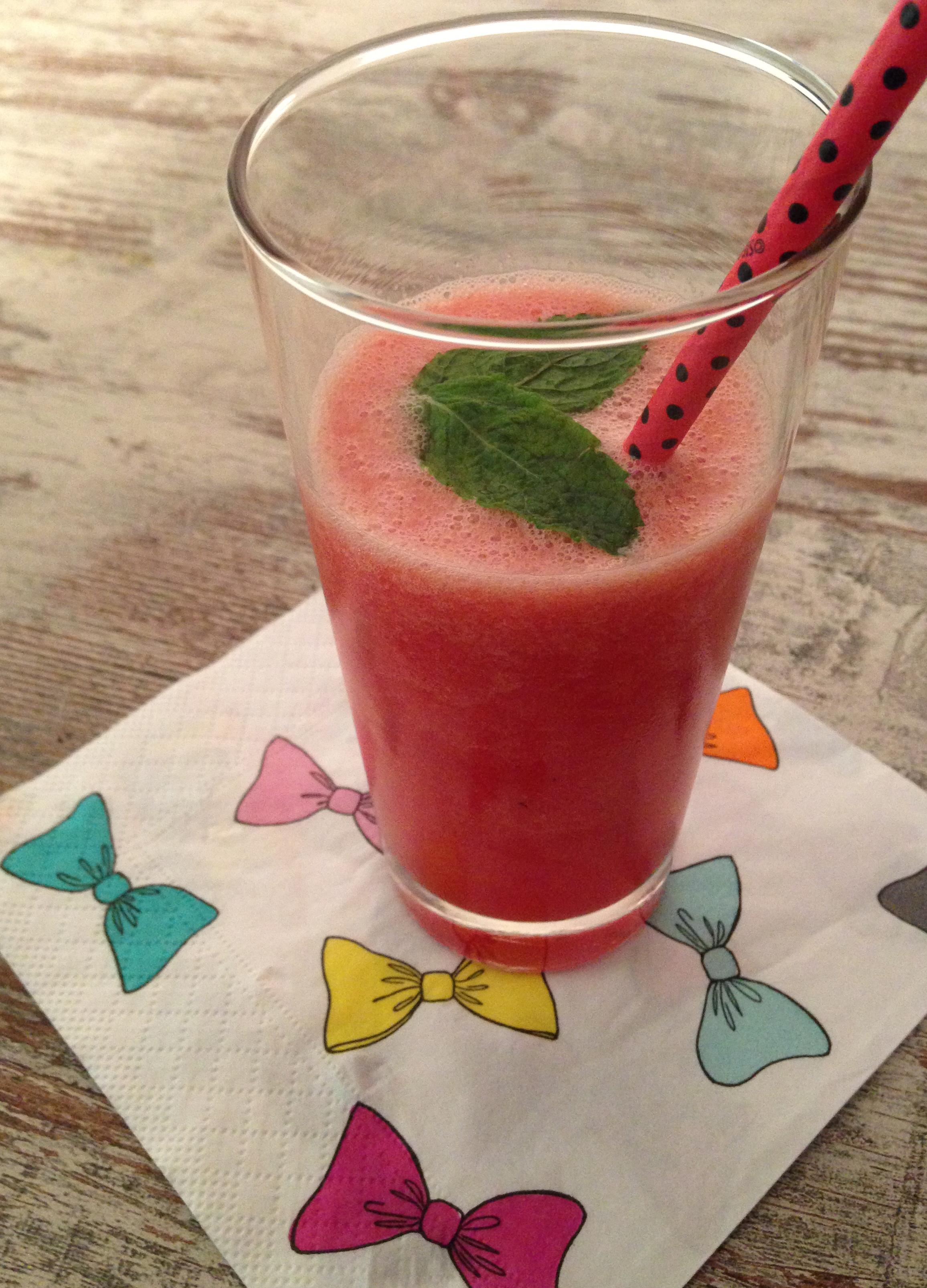 wassermelonen-limonade | watermelon lemonade | vegan | vegetarian | vegetarisch ❤