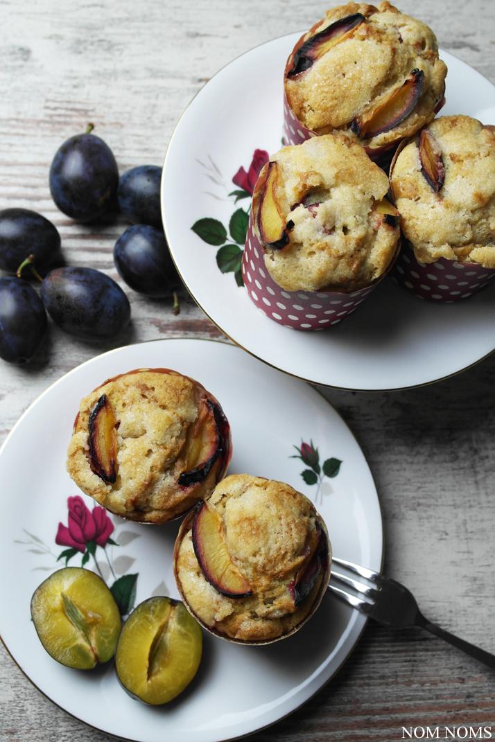 wie bei oma: vegane pflaumenmuffins mit streuseln | grannies recipe: plum muffins with crumbles (vegan) ❤