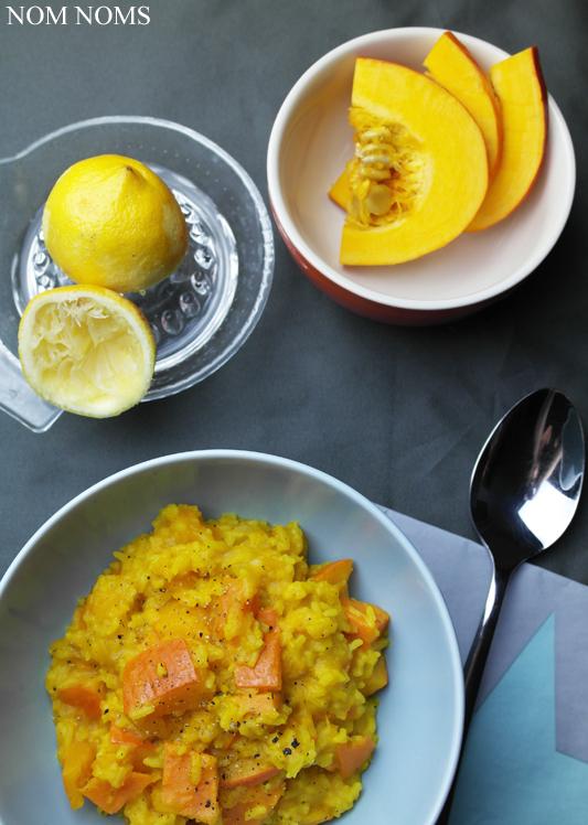 one pot: kürbis-süßkartoffel-ragout mit reis und curry | one pot: pumpkin sweet potato ragout with rice and curry (vegan)