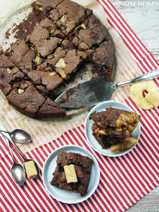 toffee-apfel-brownies | toffee apple brownies (veggie) ❤ Einfach lecker von Patrick Rosenthal