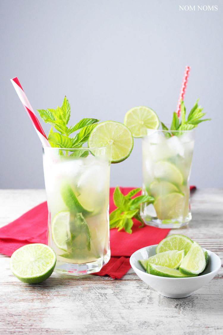 Mojito mit Gin und Zitronengras • Nom Noms food