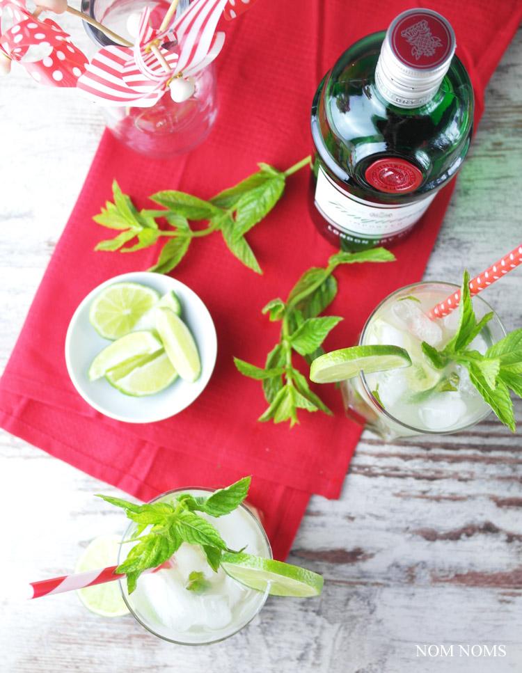 mojito mit gin und zitronengras | mojito with gin and lemon grass (vegan | werbung)