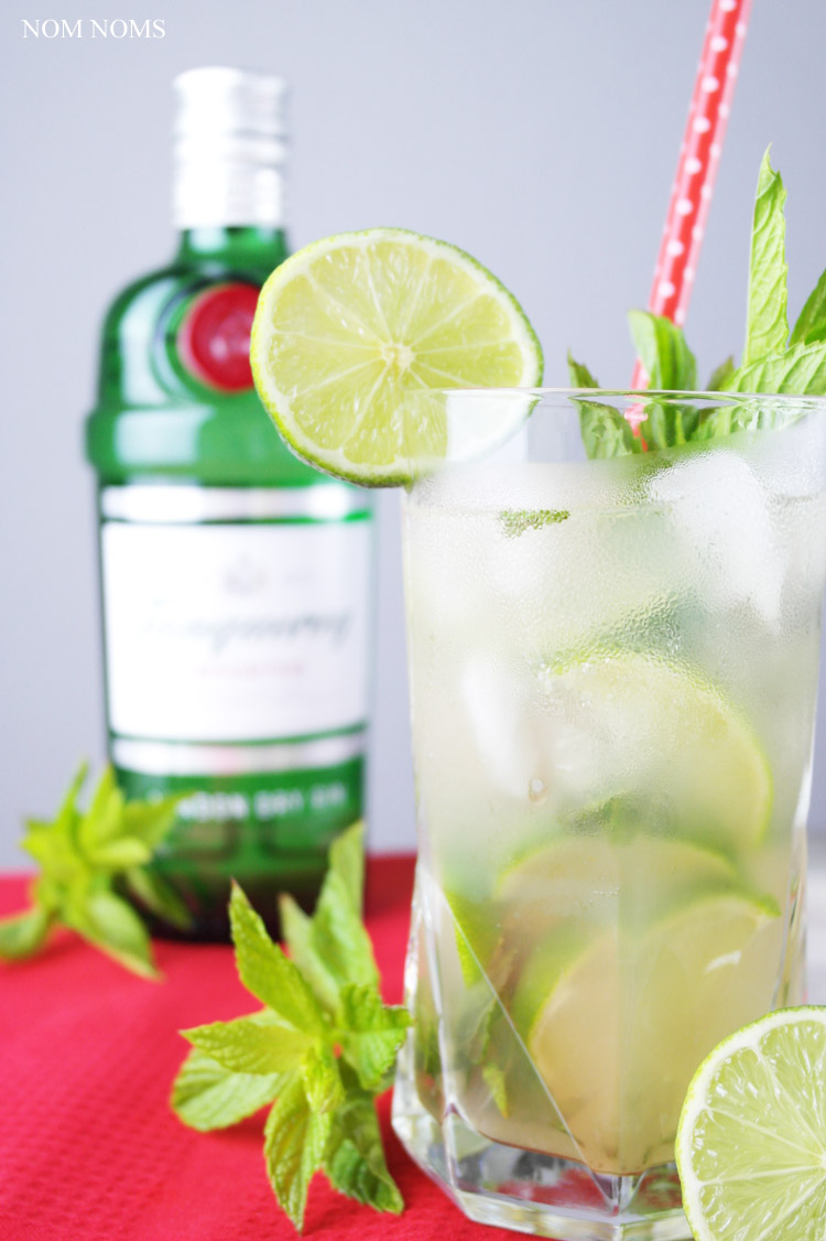 mojito mit gin und zitronengras | mojito with gin and lemon grass (vegan | werbung)