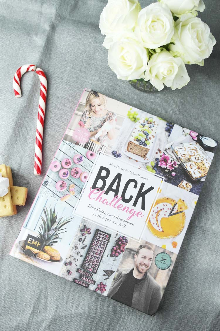 Back-Challenge: Eine Zutat, zwei Kreationen - 52 Rezepte von A - Z von Mara vom Blog Life is full of goodies und Markus vom Blog Backbube