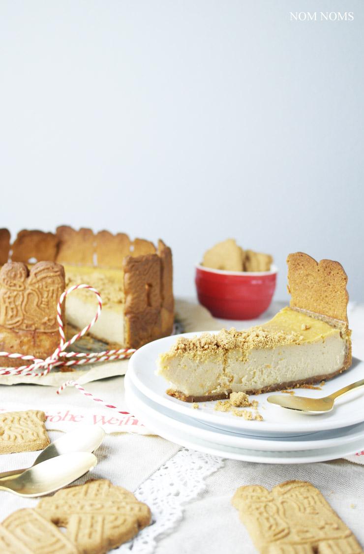 spekulatius käsekuchen | speculoos cheesecake (vegan) ❤
