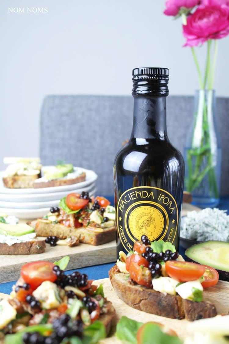 vegetarische bruschetta: herzhaft und süß ❤