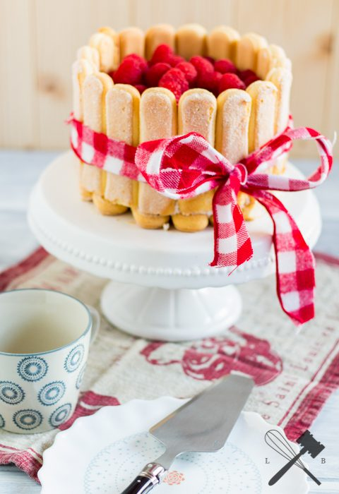 himbeer-vanille-charlotte | raspberry vanilla charlotte