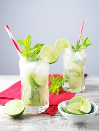 mojito mit gin und zitronengras | mojito with gin and lemongrass