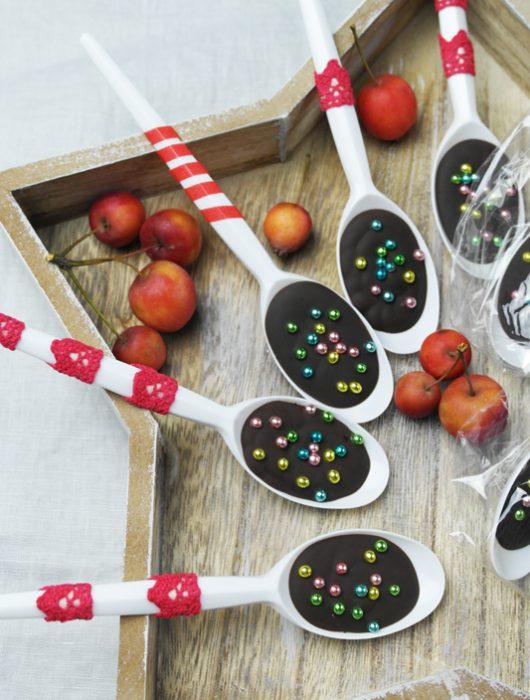 löffel-schokolade & buchempfehlung: »mein veganer adventskalender« von franzi schädel