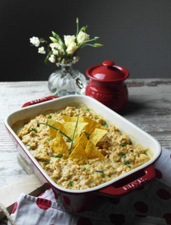 seelenwärmer: suppen & aufläufe gegen den herbstblues | bunter süßkartoffelauflauf mit knusperhäubchen
