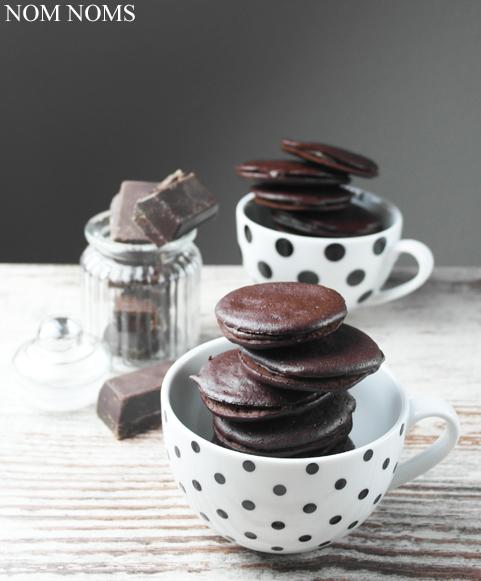 schokoladen whoopie pies | chocolate whoopie pies