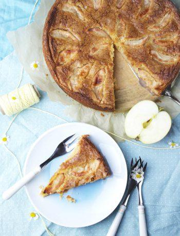 norwegischer apfelkuchen (eplekake) | norwegian apple cake