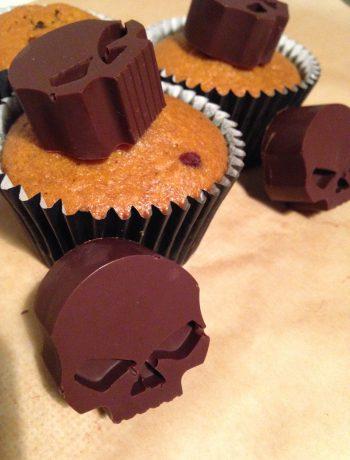 kürbis-marmor-muffins | pumpkin marble muffins