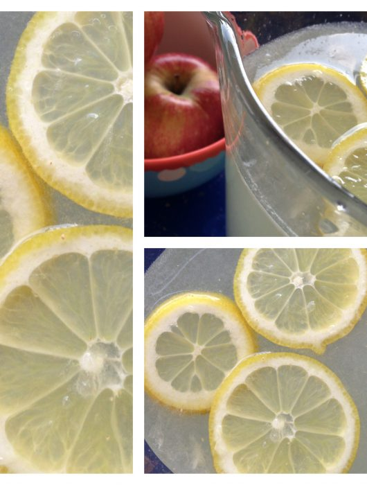selbstgemachte zitronen-limonade | selfmade lemonade