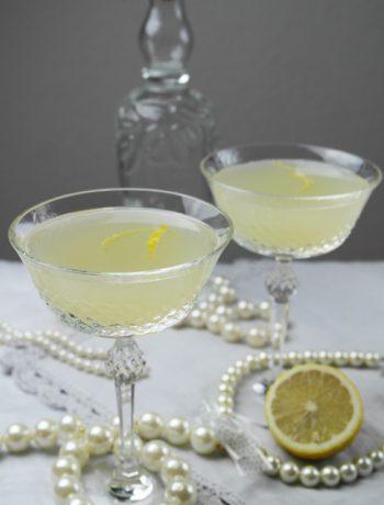 golden twenties drink mit gin: french 75