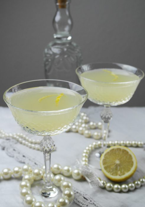 golden twenties drink mit gin: french 75
