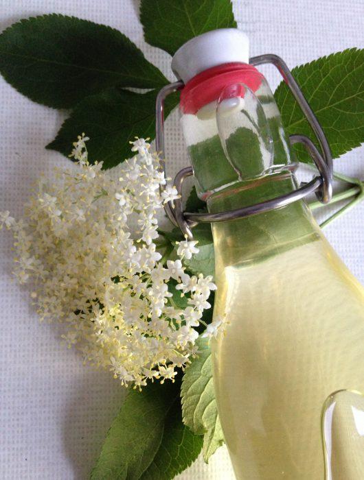 holunderblütensirup | elderflower syrup ❤