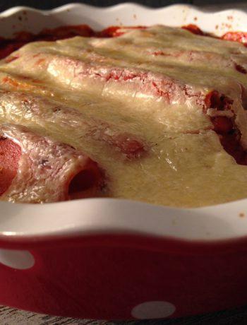 kürbis-cannelloni mit mandelmus-käse | pumpkin-cannelloni with almond butter cheese