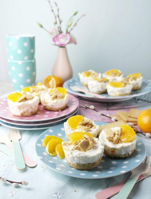 kleine mandarinen käsekuchen ohne backen