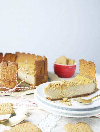 spekulatius käsekuchen speculoos cheesecake