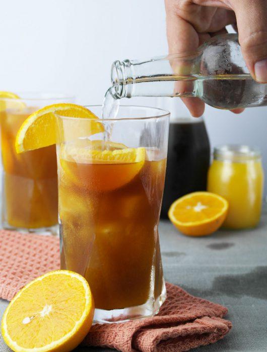 Cold Brew mit Orange und Tonic