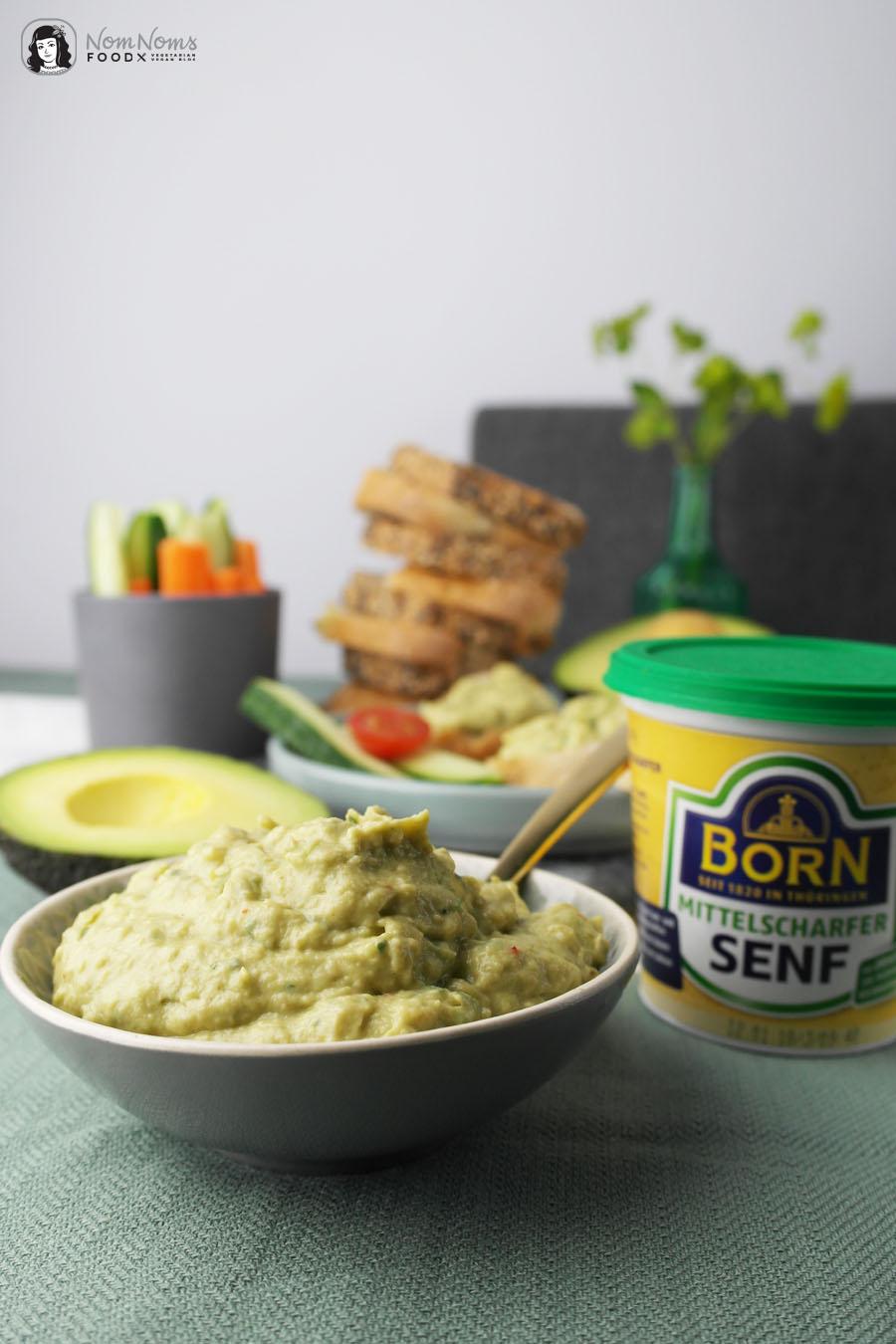 Avocado-Senf-Creme
