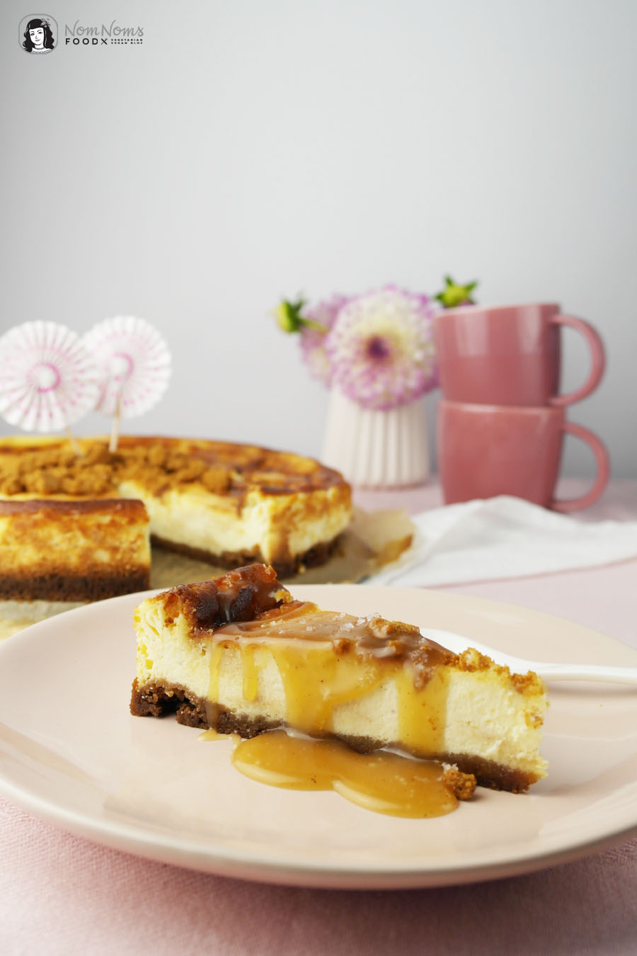 Salted Caramel Cheesecake oder Salzkaramell Käsekuchen