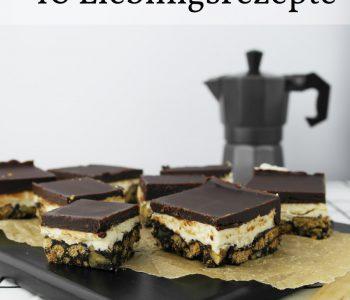 10 Lieblingsrezepte auf NOM NOMS food
