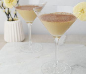 Banane und Toffee: Banoffee Martini Cocktail