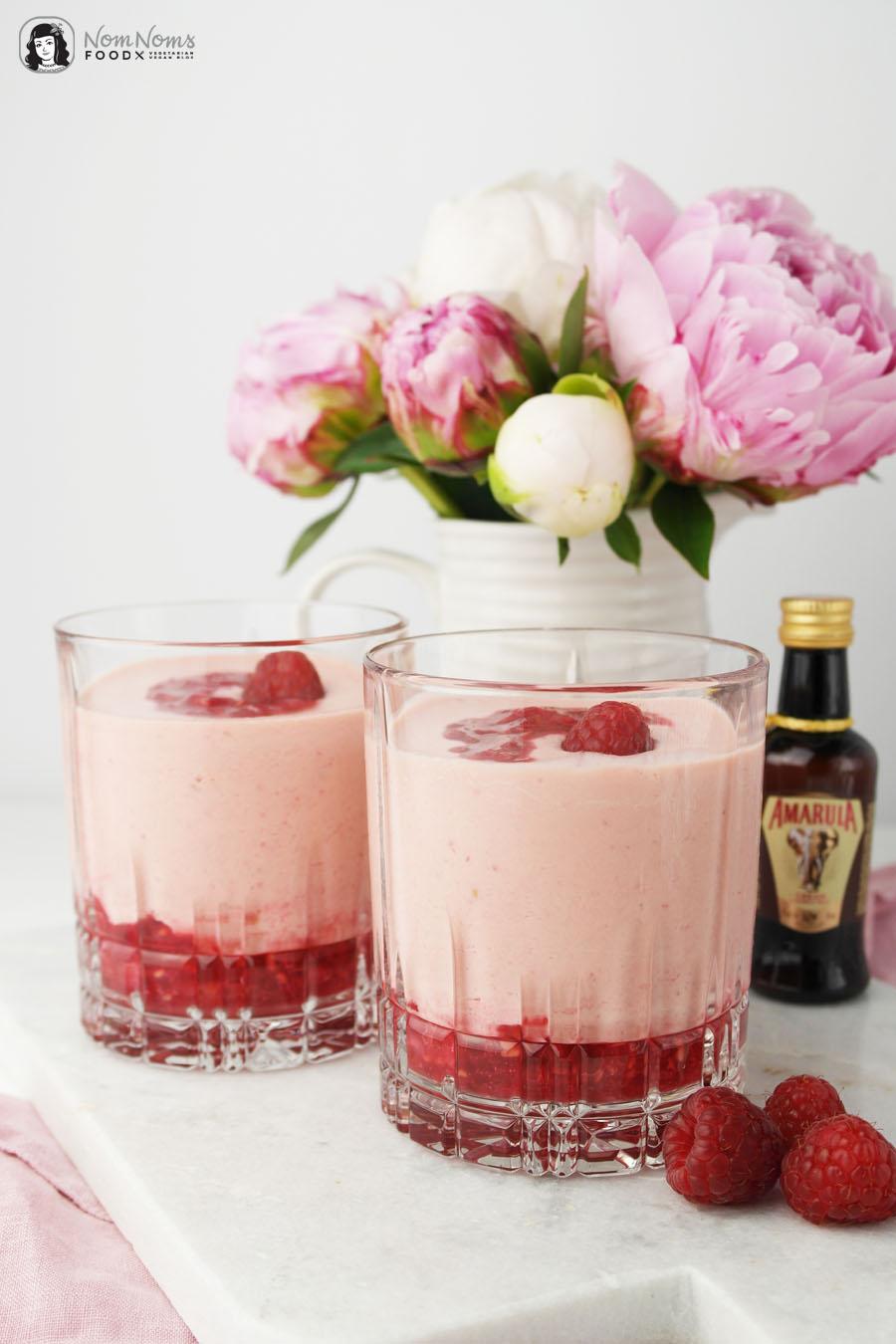 Cocktail: Amarula Himbeer Traum