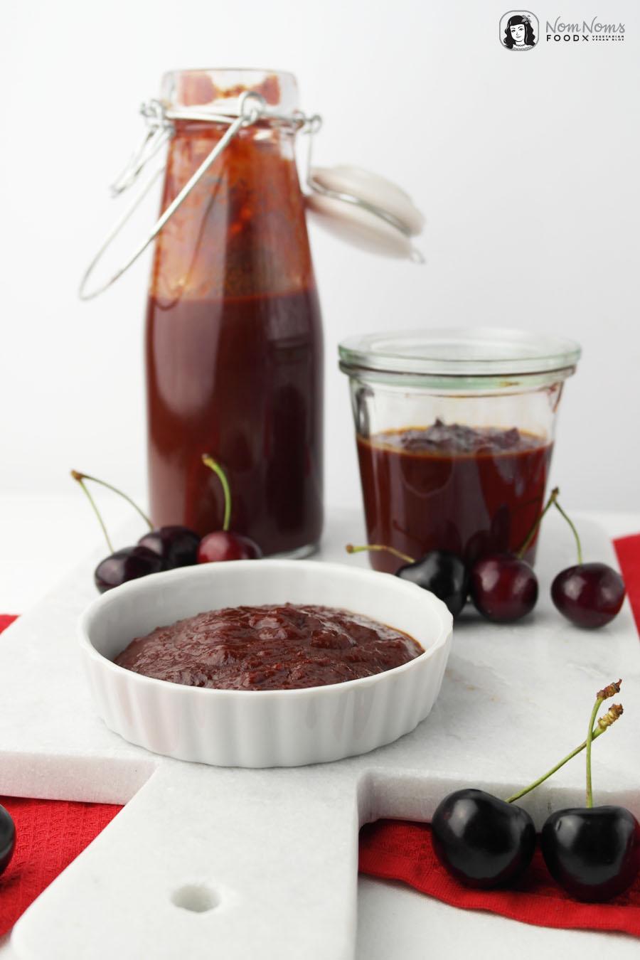 Kirsch-BBQ-Ketchup mit Balsamico