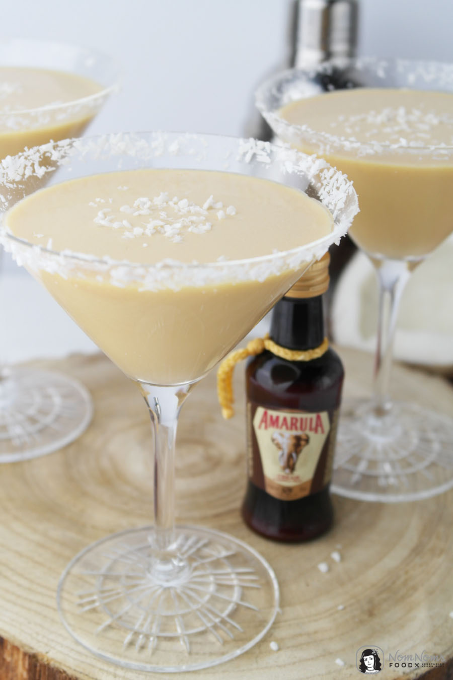 Amarula Kokosnuss Mango Kuss Cocktail