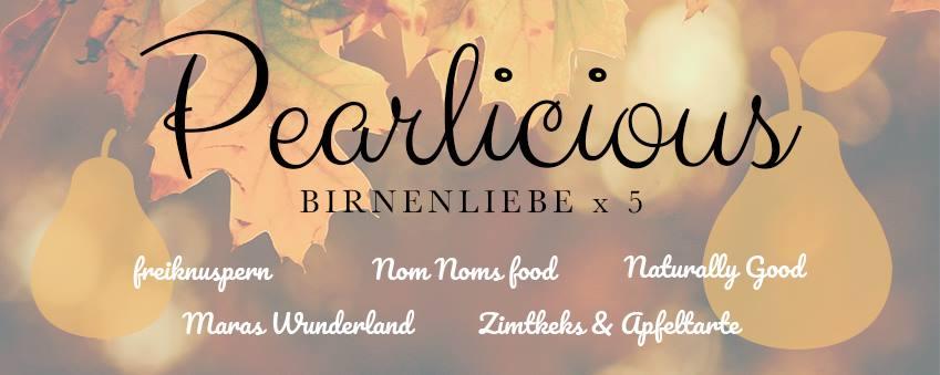 Rotwein-Birnen-Ziegenkäse-Risotto ❤ Pearlicious Birne x 5