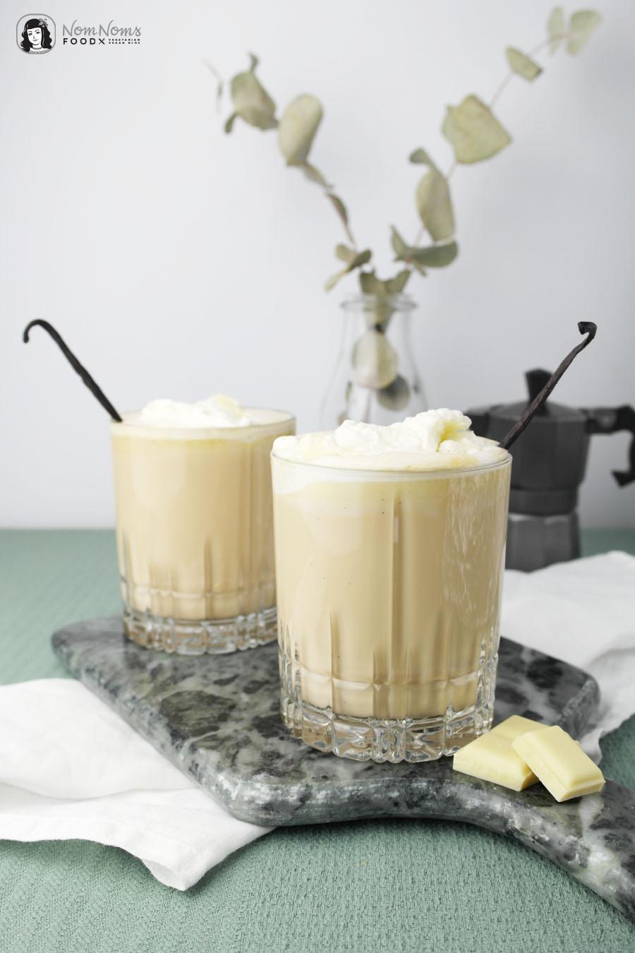 White Chocolate Mocha Kaffee mit weißer Schokolade