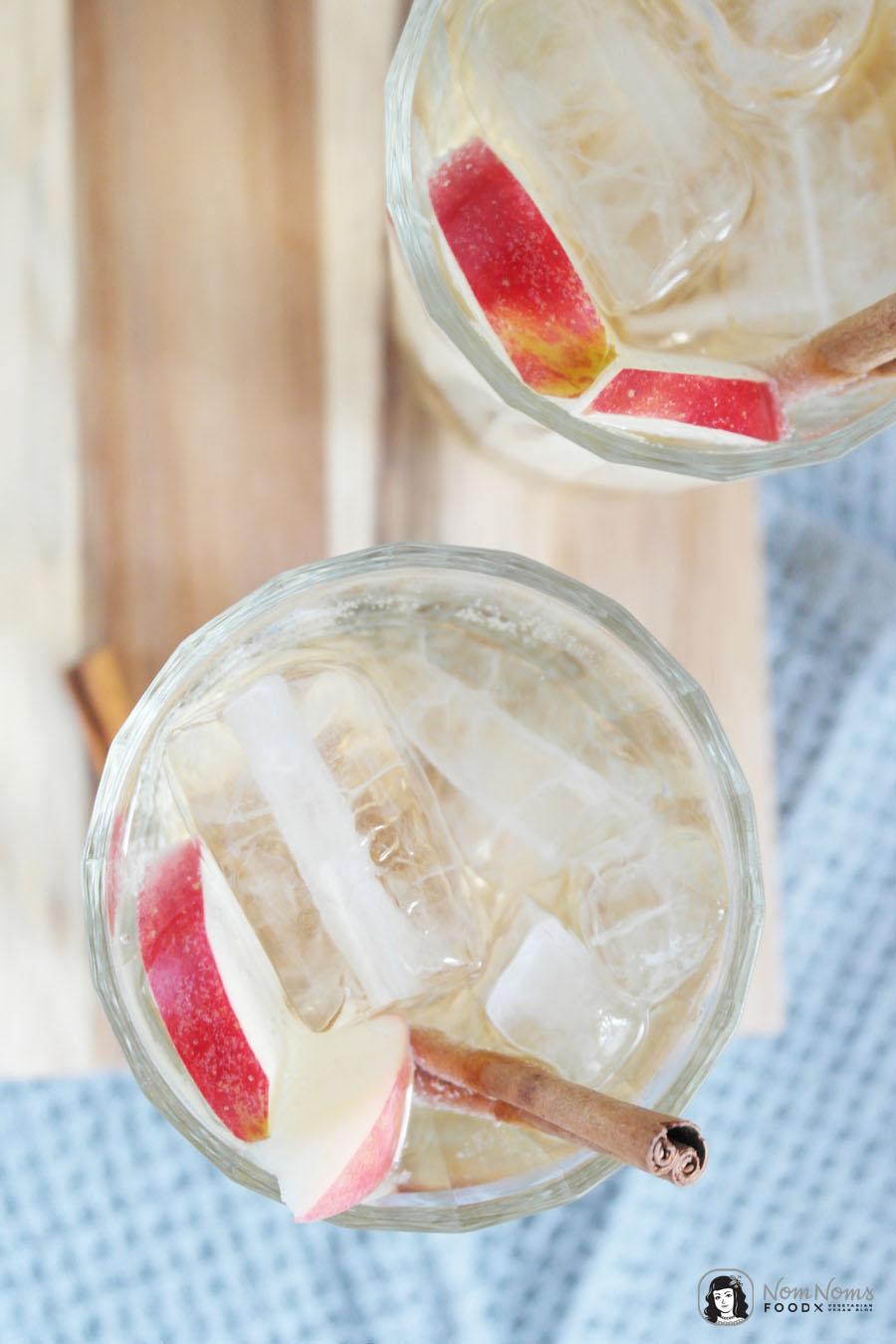 Apfelkuchen Vodka Spritzer