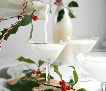 Weihnachtliche Geschenkidee Käsekuchen Cheesecake Likör