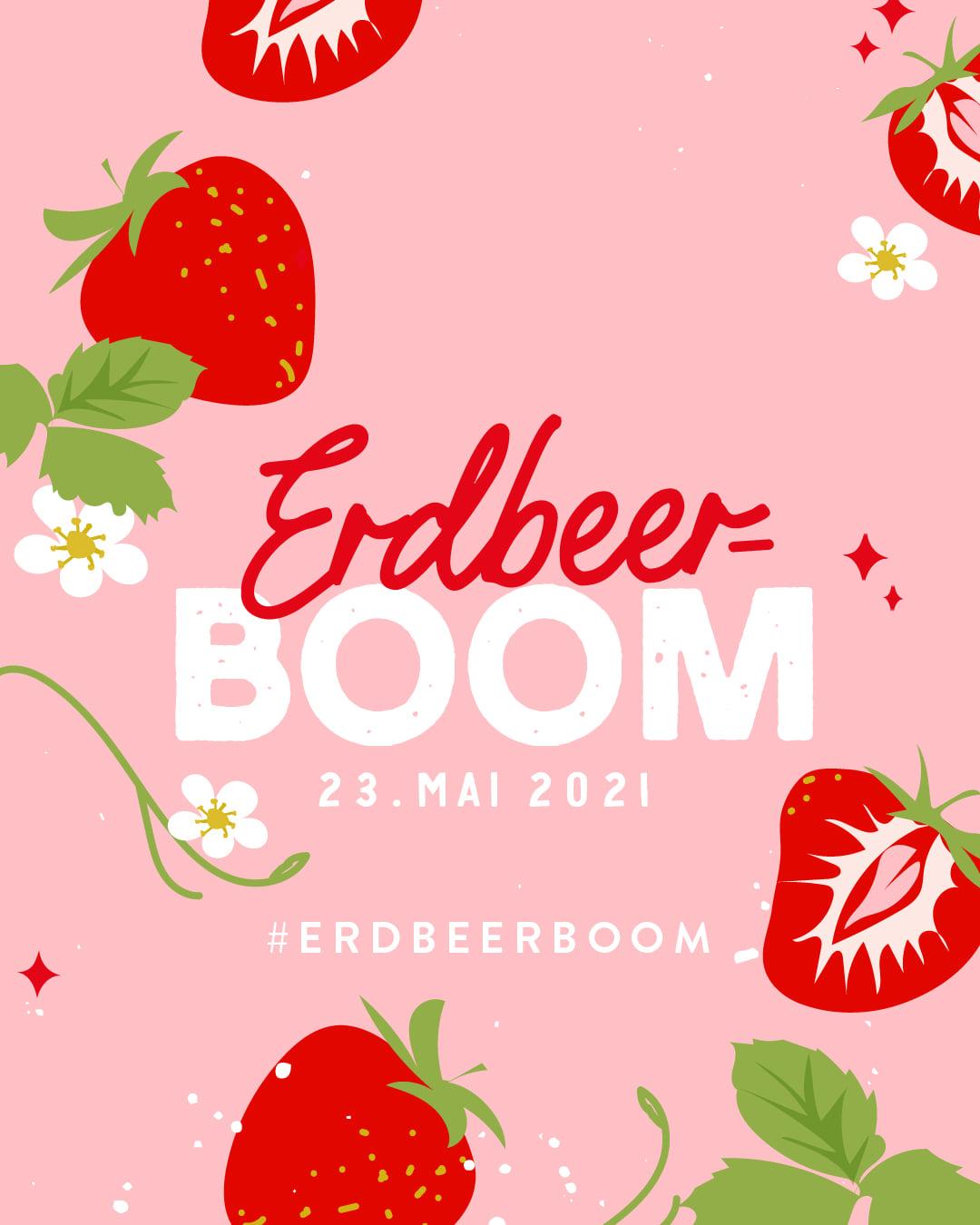Erdbeer Boom Erdbeer-Joghurt-Rührkuchen